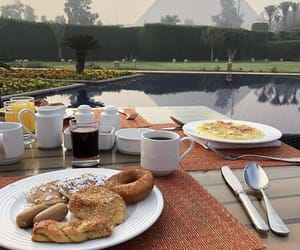 breakfast, discover, and egypt image