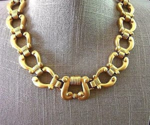 etsy, haute couture, and chunky necklace image