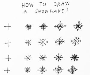 drawing, winter, and draw image