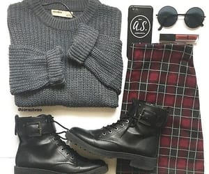 accessories, boots, and edgy image