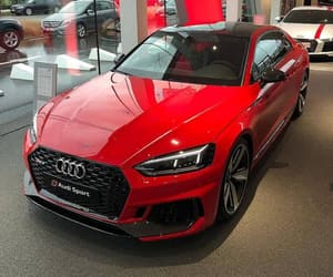 audi, red, and awesome image