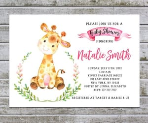 etsy, baby shower invites, and cute baby shower image