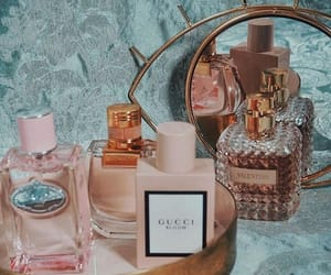 gucci, pink, and perfume image