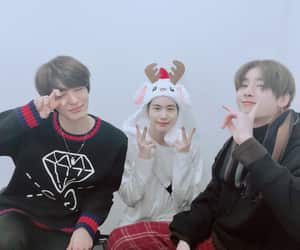 Chan, seungwoo, and seungsik image