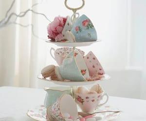 porcelain, tea, and tea party image