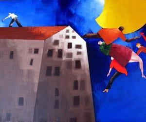 Painter, emilio tadini, and painting image