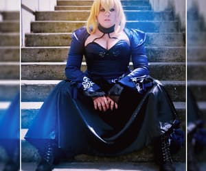 cosplay, saber, and japan expo image