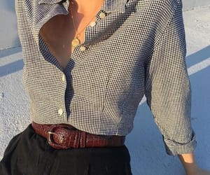 boss, button up shirt, and retro image