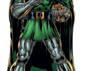 Fantastic Four, doctor doom, and marvel comics image