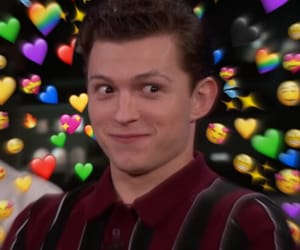 tom holland, tomholland, and heartmeme image