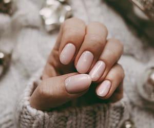 christmas, nails, and pink image