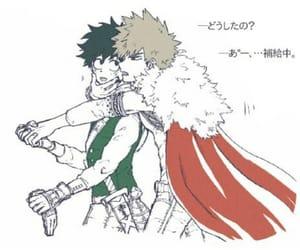 all might, boku no hero academia, and izuku midoriya image