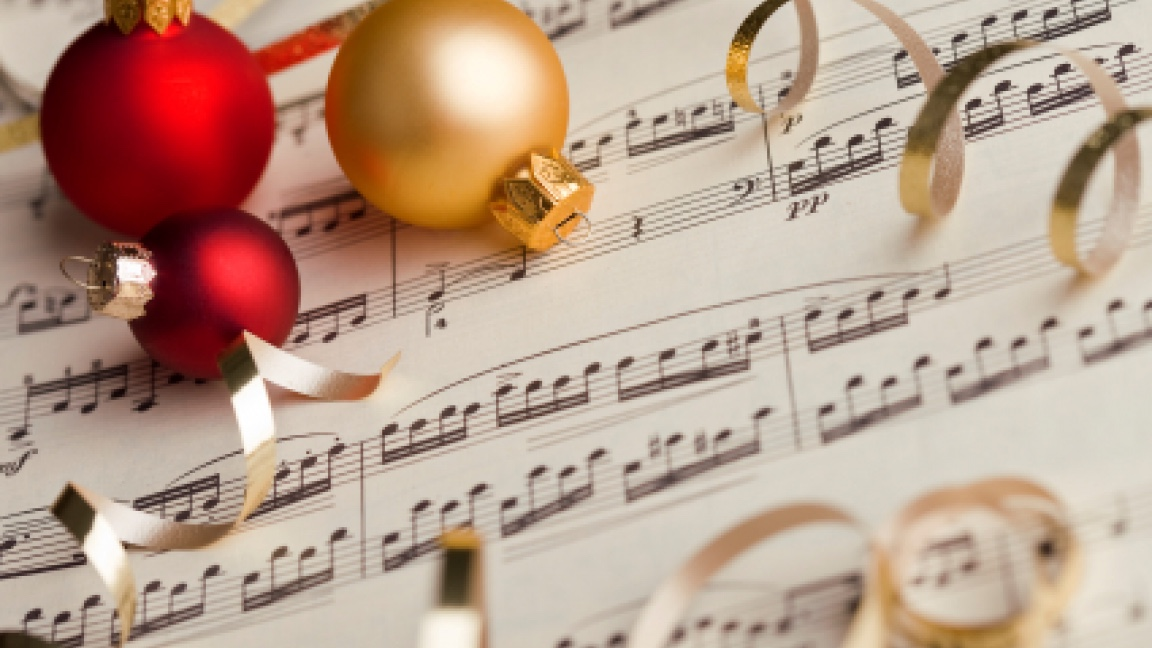 article and christmas music image