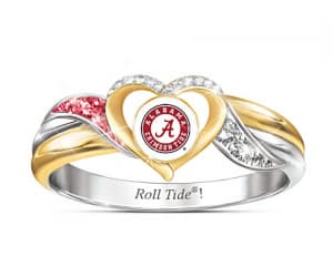 alabama crimson tide ring image