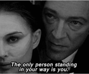 black swan, black and white, and movie image