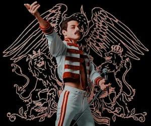 Freddie Mercury, Queen, and bohemian rhapsody image
