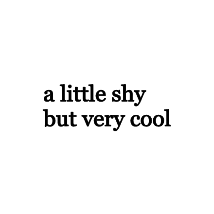 cool, quote, and shy image