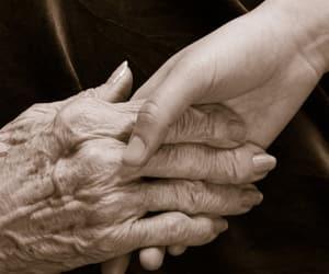 death, grandma, and wrinkles image