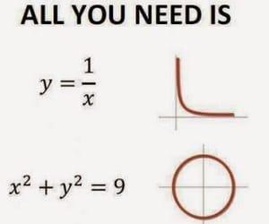 love, math, and maths image