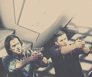 brothers, dean winchester, and jared padalecki image