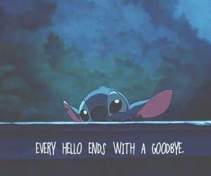 goodbye, sad, and hello image