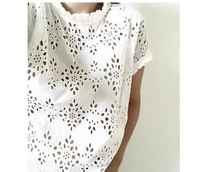 eyelet, ruffles, and broderie image