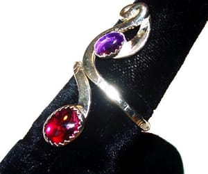 etsy, rings, and vintage jewelry image