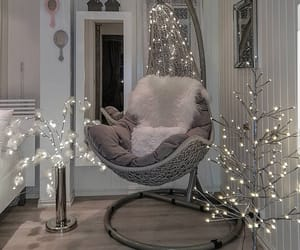 home, lights, and inspiration image