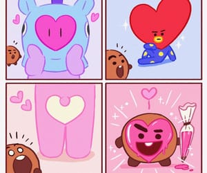 mang, bt21, and shooky image