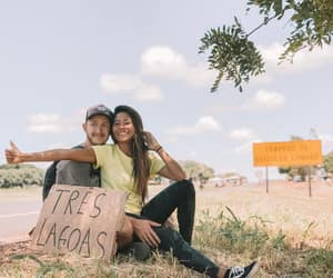 backpacking, travel, and hitchhiking image