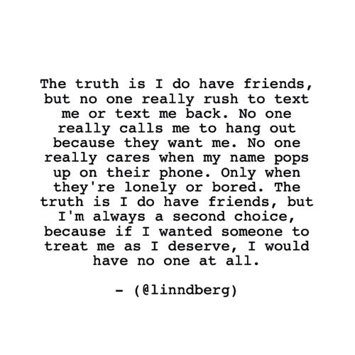 quotes, sad, and friends image