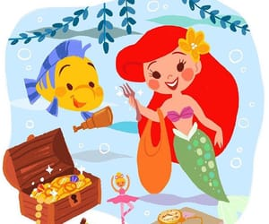 ariel, draw, and movies image