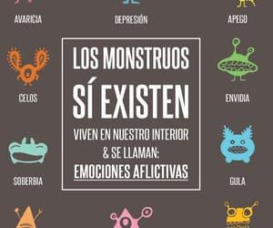 monstruos, vida, and frases español image