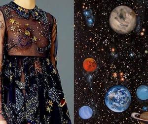 art, dress, and universe image