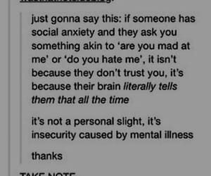 anxiety, note, and people image