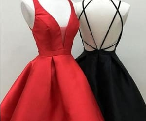 homecoming dress, cute prom dress, and homecoming dresses black image