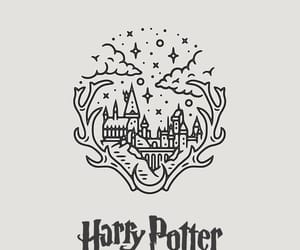 harry potter, wallpaper, and hogwarts image