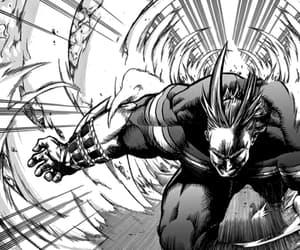manga, all might, and boku no hero academia image