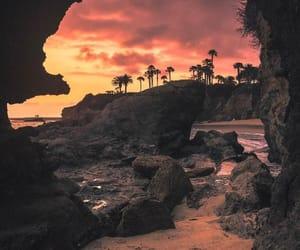 nature, sky, and beach image