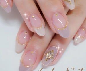 blue, kawaii, and nails image