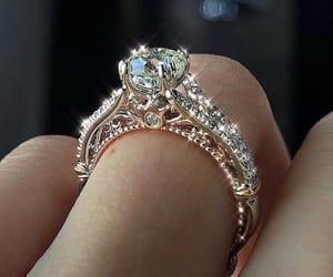 beautifull, ring, and diamond image