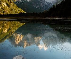 belleza, reflejo, and lago image
