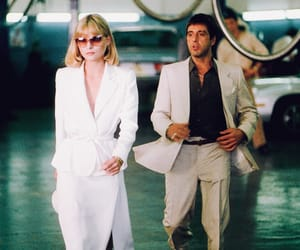 scarface, al pacino, and michelle pfeiffer image