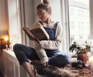 bookworm, article, and beauty image