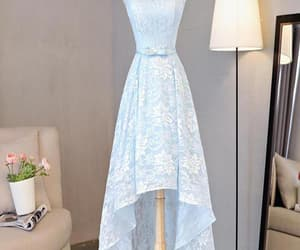 short prom dresses, homecoming dresses blue, and high low prom dresses image