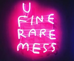 fine, mess, and rare image