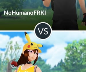 pokemon go, pokemon go peleas, and enfermera glo image