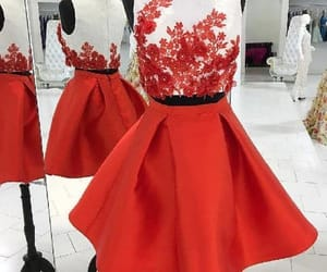 sexy homecoming dress, 2018 homecoming dress, and homecoming dress red image