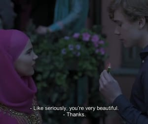 friendship, hijab, and skam image