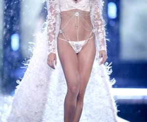 fashion show, runway, and lingerie image